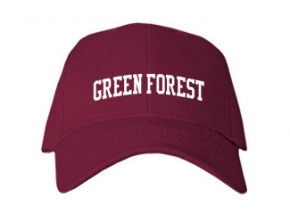 Green Forest High School Kid Embroidered Baseball Caps