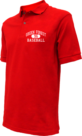 Green Forest High School Embroidered Polo Shirts