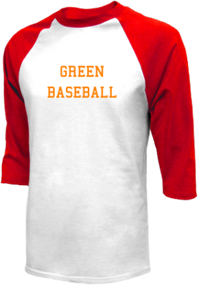Green High School Raglan Shirts
