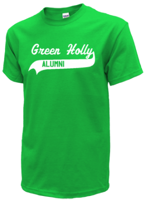 Green Holly School T-Shirts