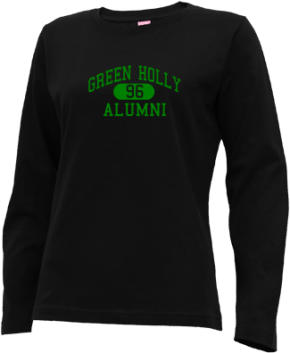 Green Holly School Long Sleeve Shirts