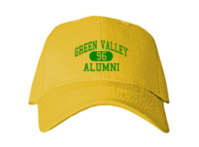 Green Valley Elementary School Embroidered Baseball Caps