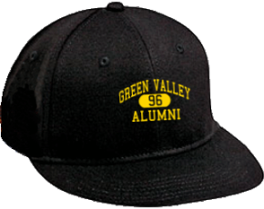 Green Valley Elementary School Flat Visor Caps