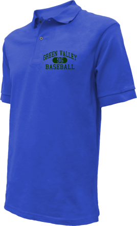 Green Valley High School Embroidered Polo Shirts