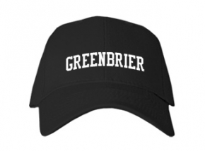 Greenbrier High School Kid Embroidered Baseball Caps
