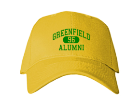 Greenfield Middle School Embroidered Baseball Caps