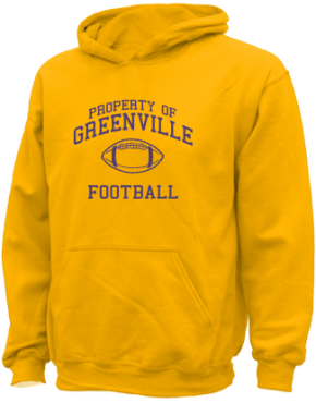 Greenville Middle School Kid Hooded Sweatshirts
