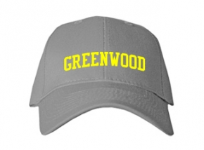 Greenwood High School Kid Embroidered Baseball Caps