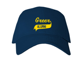 Greer Middle School Embroidered Baseball Caps