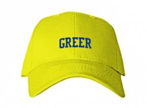 Greer Middle School Kid Embroidered Baseball Caps