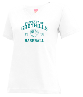 Greyhills High School V-neck Shirts