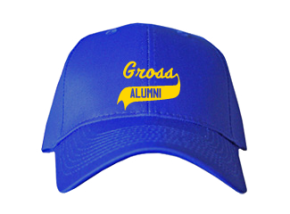 Gross Middle School Embroidered Baseball Caps