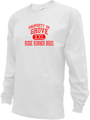 Grove Middle School Kid Long Sleeve Shirts