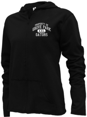 Grove Park Elementary School Girls Zipper Hoodies