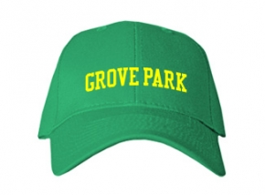 Grove Park Elementary School Kid Embroidered Baseball Caps