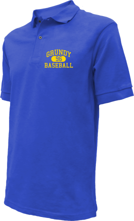 Grundy High School Embroidered Polo Shirts