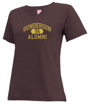 Gunderson High School V-neck Shirts