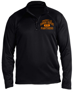Gunning Bedford Middle School Stretch Tech-Shell Compass Quarter Zip