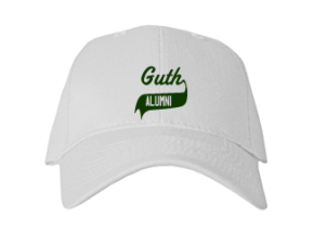Guth Elementary School Embroidered Baseball Caps