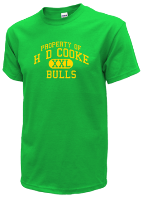 H D Cooke Elementary School T-Shirts