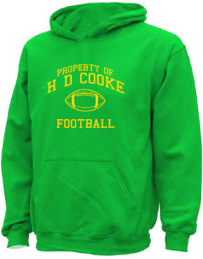 H D Cooke Elementary School Kid Hooded Sweatshirts