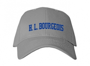 H. L. Bourgeois High School Kid Embroidered Baseball Caps