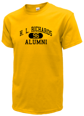 H. L. Richards High School T-Shirts