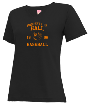 Hall High School V-neck Shirts
