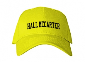 Hall Mccarter Middle School Kid Embroidered Baseball Caps