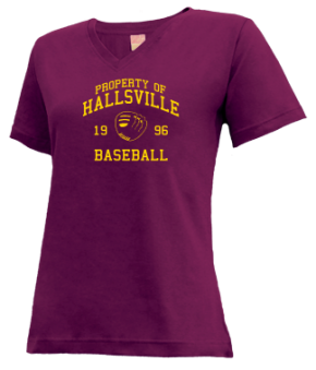 Hallsville High School V-neck Shirts