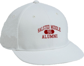 Halsted Middle School Flat Visor Caps