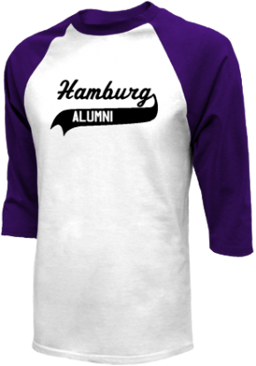 Hamburg Junior High School Raglan Shirts