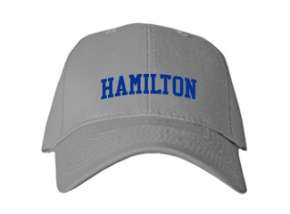 Hamilton High School Kid Embroidered Baseball Caps