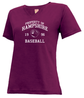 Hampshire High School V-neck Shirts