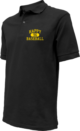 Happy High School Embroidered Polo Shirts