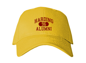 Harding High School Embroidered Baseball Caps