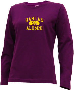 Harlan Elementary School Long Sleeve Shirts
