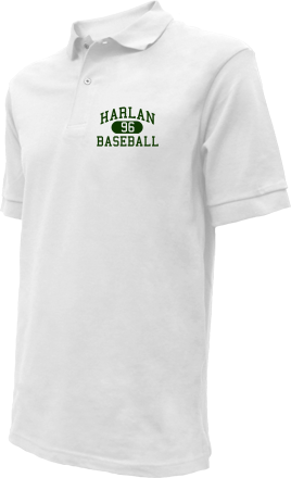 Harlan High School Embroidered Polo Shirts