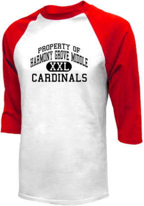 Harmony Grove Middle School Raglan Shirts