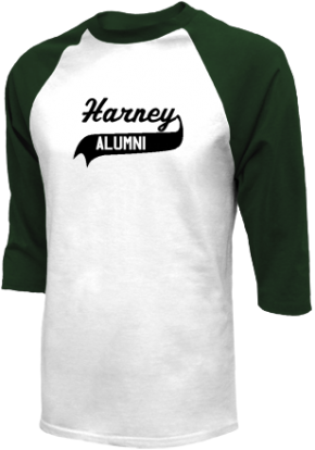 Harney Middle School Raglan Shirts