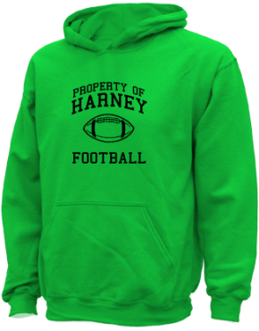 Harney Middle School Kid Hooded Sweatshirts
