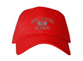 Harold R Walker Elementary School Embroidered Baseball Caps