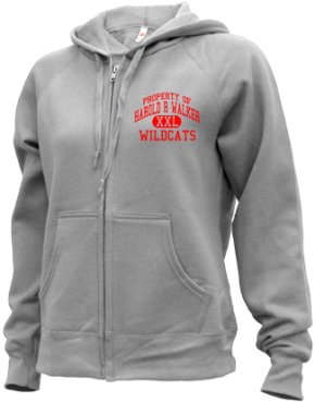 Harold R Walker Elementary School Zip-up Hoodies