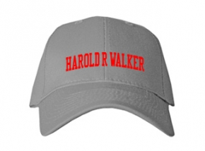 Harold R Walker Elementary School Kid Embroidered Baseball Caps