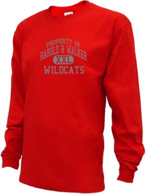 Harold R Walker Elementary School Kid Long Sleeve Shirts