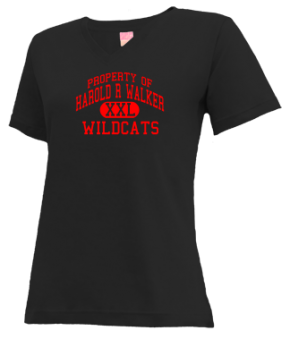 Harold R Walker Elementary School V-neck Shirts
