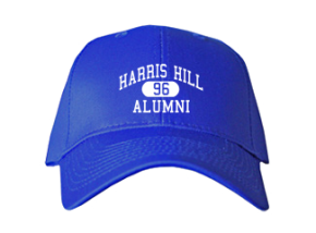 Harris Hill Elementary School Embroidered Baseball Caps
