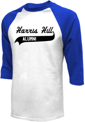 Harris Hill Elementary School Raglan Shirts