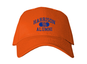 Harrison Elementary School Embroidered Baseball Caps