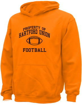 Hartford Union High School Kid Hooded Sweatshirts